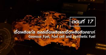 เชื้อเพลิงแก๊ส เซลล์เชื้อเพลิง และเชื้อเพลิงสังเคราะห์
